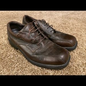 Skechers brown dress shoes size 12 exc cond